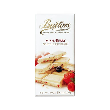 Butlers White Choc w/ Mixed Berries