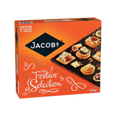 jacob's cream crackers festive selection by food ireland