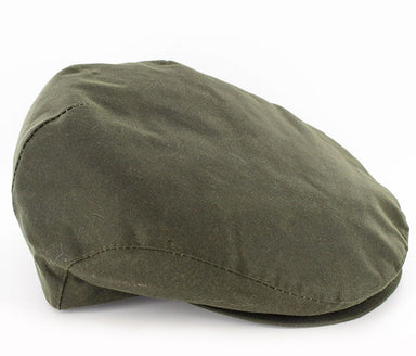 mucros trinity Flat cap waxed cotton