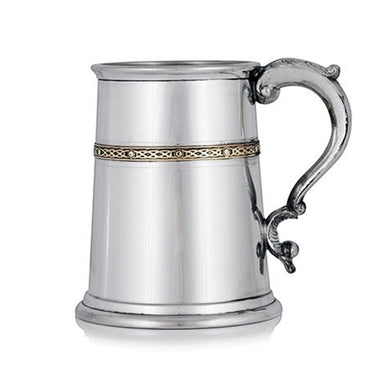brass brand pint tankard by a e williams