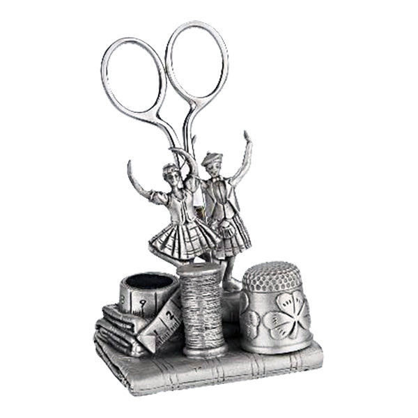 irish dance pewter sewing station by a e williams