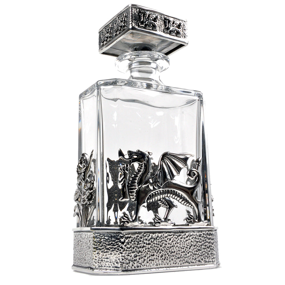 Welsh Dragon Decanter