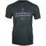 front of answer may not lie at the bottom of a bottle heather gray shirt