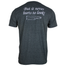 back of answer may not lie at the bottom of a bottle heather gray shirt
