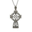sterling silver marcasite celtic cross by anu celtic jewellery