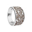 sterling silver tree of life marcasite ring by anu celtic jewellery