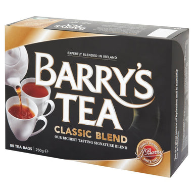 barry's irish tea classic blend with 80 bags