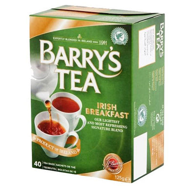 barry's irish breakfast tea with 40 bags