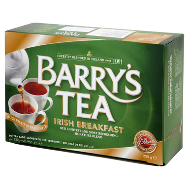barry's irish breakfast tea with 80 bags
