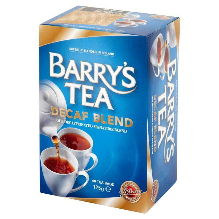 barry's irish tea decaf blend with 40 bags