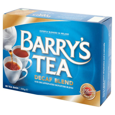 barry's irish tea decaf blend 80 bags