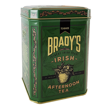 brady's afternoon tea in a tin
