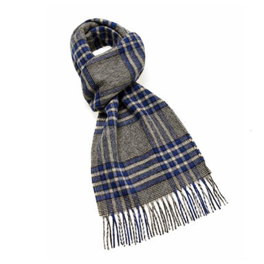 red 100% wool hutton collection scarf by bronte by moon