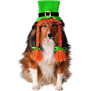 Pet Irish Hat with Braids