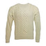 natural cream aran sweater by carraig donn