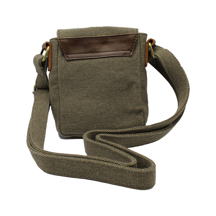 tweed and leather should bag with single buckle by carraig donn
