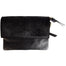 front of black leather shoulder bag by celtic ranch