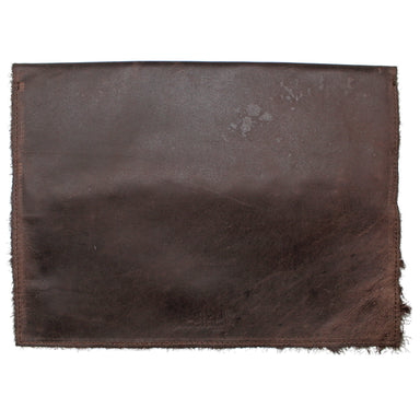 front of brown leather iPad Pro and MacBook Air cover by celtic ranch