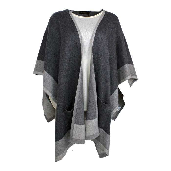 wool blend poncho wrap by celtic ranch