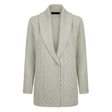 chalkstone ladies adare one button cardigan
