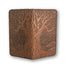 tree of life leather checkbook holder