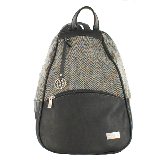 front of colleen backpack color 1 by mucros weavers