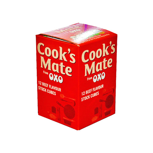 cook's mate from oxo beef meat flavor stock cubes by food ireland