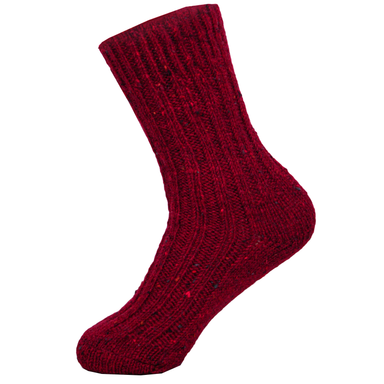 mens red wool socks