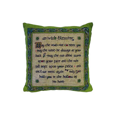 Irish Blessing Cushion Covers
