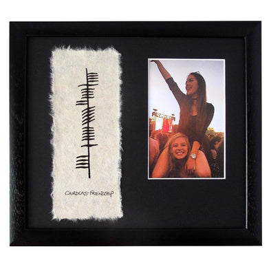 Ogham Photo Frame