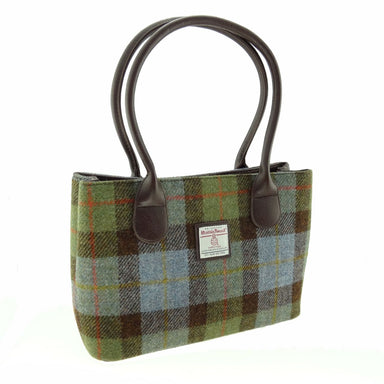 harris tweed classic cassley handbag style 15 by glen appin