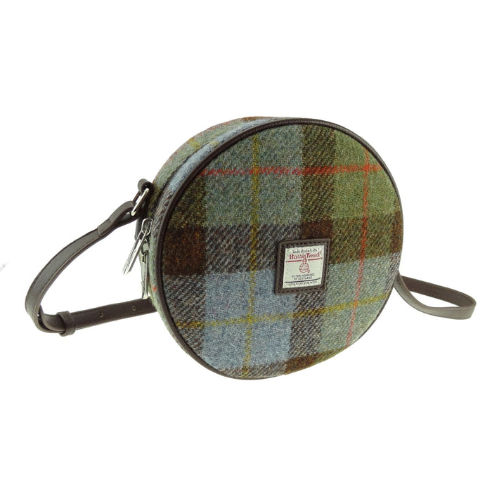 bannock harris tweed round bag style 15 by glen appin