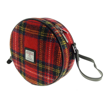 bannock harris tweed round bag style 24 by glen appin