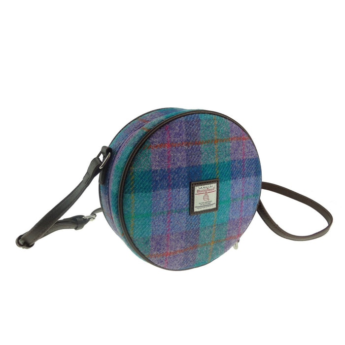 bannock harris tweed round bag style 79 by glen appin