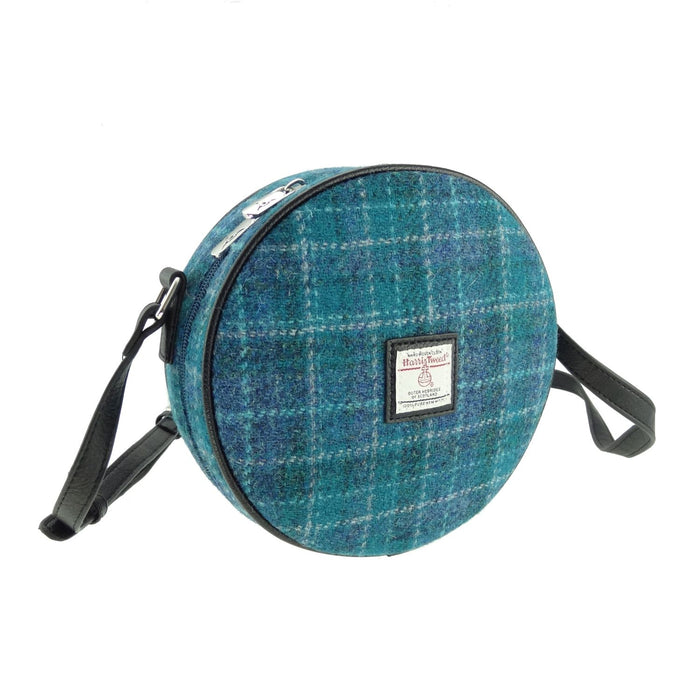 bannock harris tweed round bag style 92 by glen appin