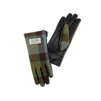 color 15 leather and tweed gloves by glen appin