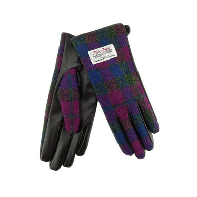 color 54 leather and tweed gloves by glen appin
