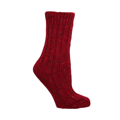 womens red wool socks