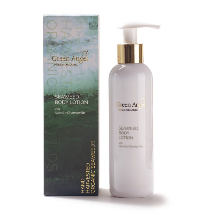 seaweed body lotion by green angel