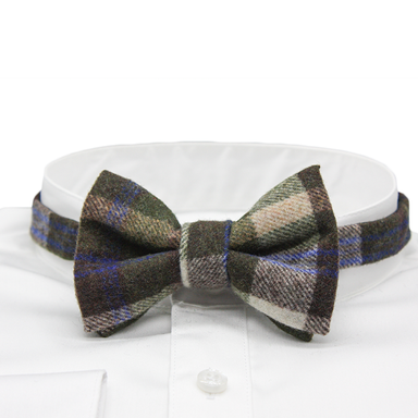 Tweed and Wool Bow Ties