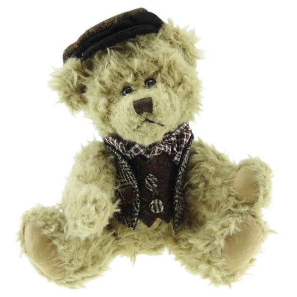 Boy Teddy Bear Harris Tweed Clothing