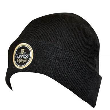 front of classic beanie by guinness