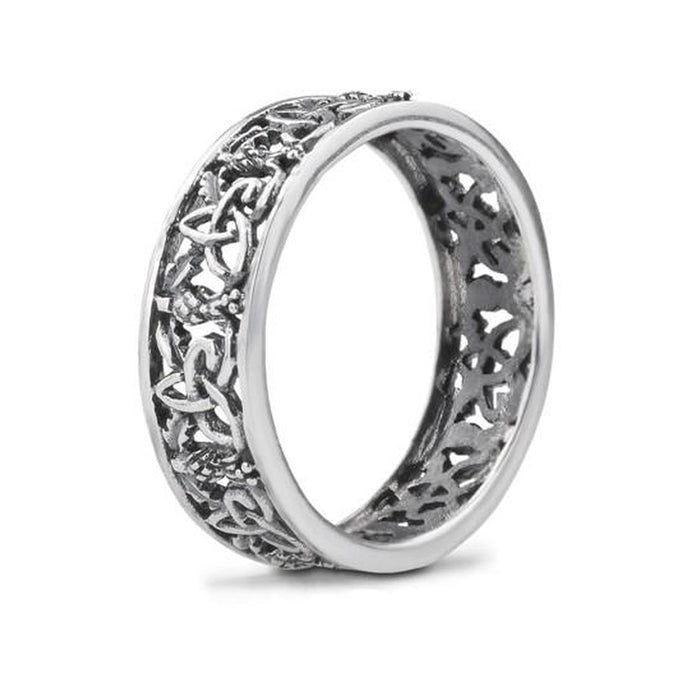 outlander inspired silver ring by hamilton and young