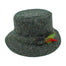 heather green traditional wool irish walking hat by hanna hats