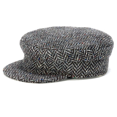traditional wool skipper cap by hanna hats of donegal