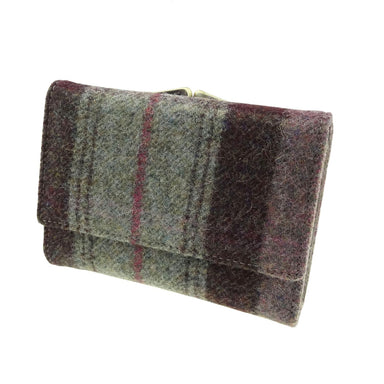 harris tweed short wallet purse belby style mc03 by glen appin
