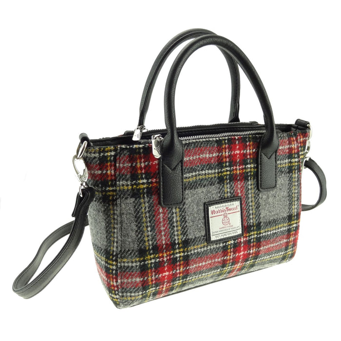 brora harris tweed small tote bag style 96 by glen appin