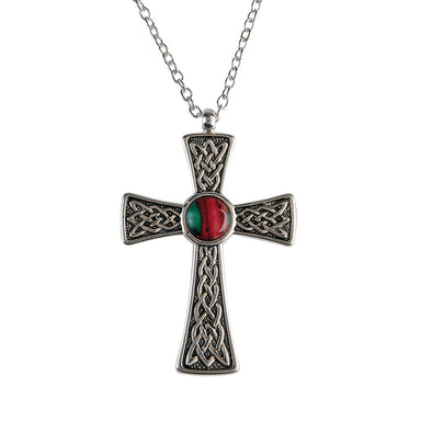 celtic cross pendnat by heathergems