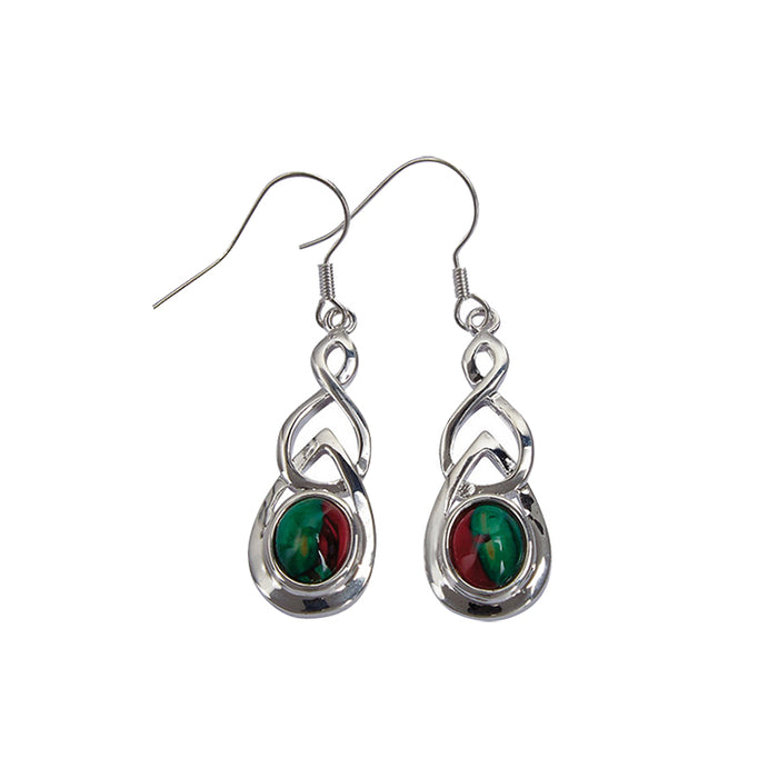 Heathergems Celtic Drop Earrings (HE15)