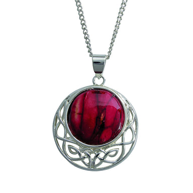 heathergem comag celtic pendant necklace